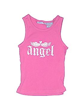 Blue Heart Sleeveless T-Shirt Size 7 - 8