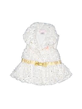Little Lass Faux Fur Vest Size 24 mo