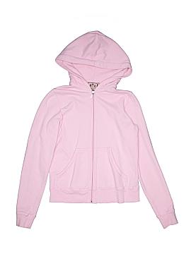 Juicy Couture Zip Up Hoodie Size M (Kids)