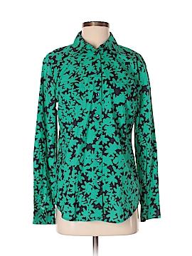 Ann Taylor LOFT Outlet Long Sleeve Button-Down Shirt Size S