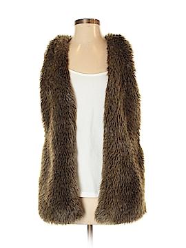 Hinge Faux Fur Vest Size XS