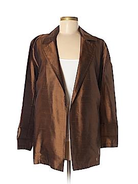 Donna Karan Signature Silk Blazer Size 8