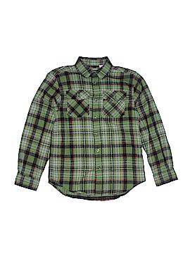 L.L.Bean Long Sleeve Button-Down Shirt Size S (Kids)