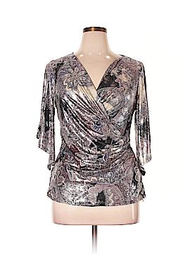 DressBarn 3/4 Sleeve Top Size 1X (Plus)