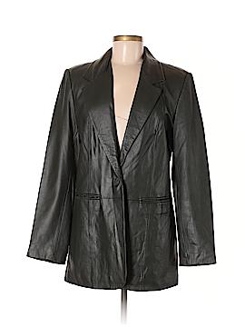 Denim Co Leather Jacket Size M