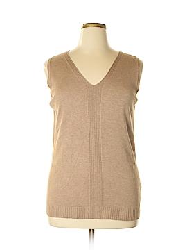Jones New York Collection Sweater Vest Size 1X (Plus)