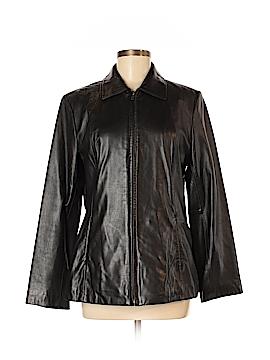 Preswick & Moore Leather Jacket Size M