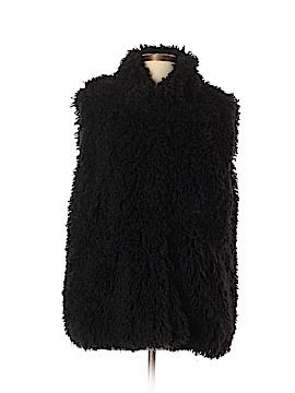 Katie Todd Faux Fur Vest Size XL