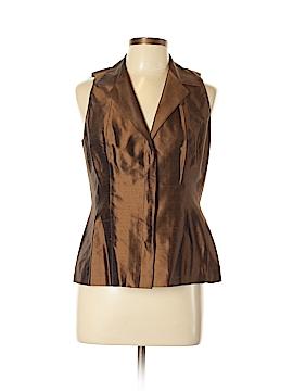 Donna Karan Signature Sleeveless Silk Top Size 10