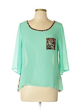 Yoyo5 3/4 Sleeve Blouse Size L