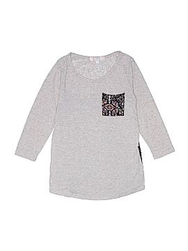 Moa Moa Girls 3/4 Sleeve T-Shirt Size L (Kids)