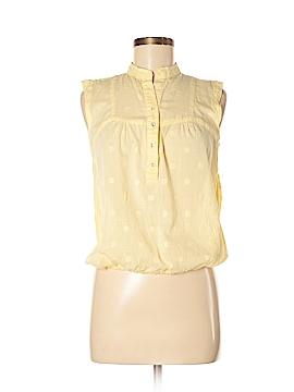 Carole Little Short Sleeve Button-Down Shirt Size S