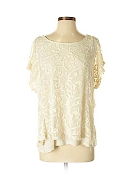 Bobeau Short Sleeve Top Size L