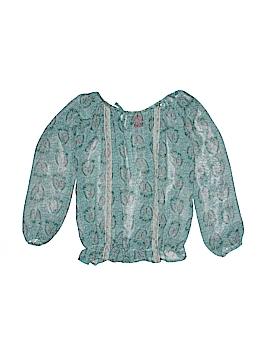 Ella Moss Long Sleeve Blouse Size 7 - 8