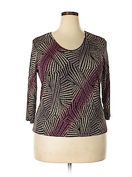 Peter Nygard 3/4 Sleeve Top Size XL