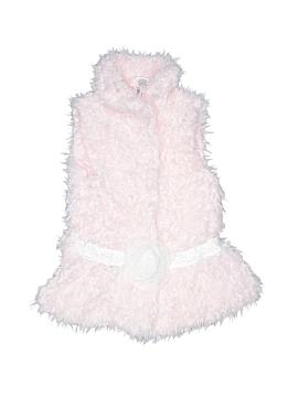 Little Lass Faux Fur Vest Size 6X