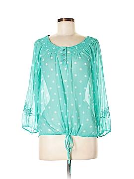 Nine West Vintage America Long Sleeve Blouse Size S