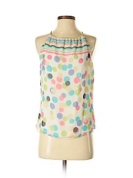 Worth New York Sleeveless Silk Top Size 8