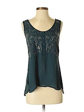 Saivana Sleeveless Silk Top Size S