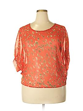 Daytrip Short Sleeve Blouse Size XL