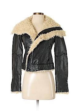 RACHEL Rachel Roy Leather Jacket Size XS