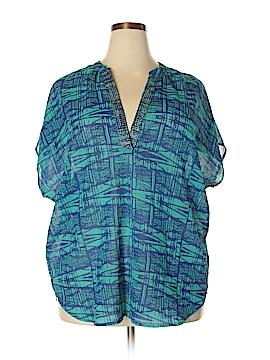 Millenium Short Sleeve Blouse Size L
