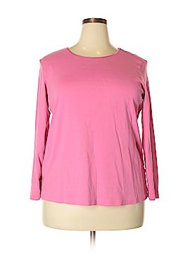 Cj Banks Long Sleeve T-Shirt Size 2X (Plus)