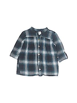 Carter's 3/4 Sleeve Button-Down Shirt Size 3T