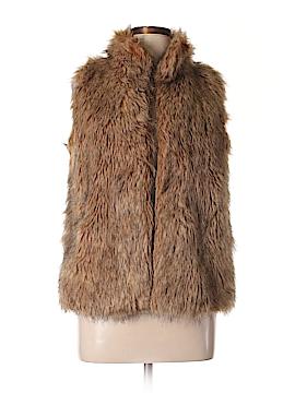 Kenar Faux Fur Vest Size L