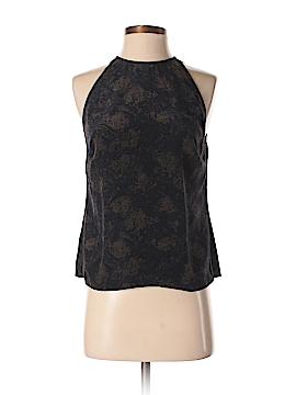 W by Worth Sleeveless Silk Top Size 4