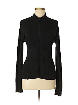 BCBGMAXAZRIA Silk Cardigan Size L