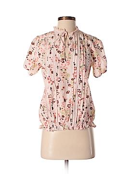 Sanctuary Short Sleeve Silk Top Size XS