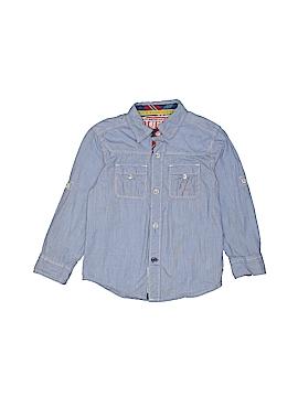 Guess Long Sleeve Button-Down Shirt Size 4