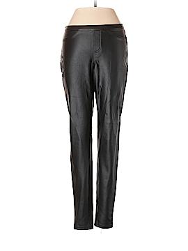 Hue Faux Leather Pants Size XS