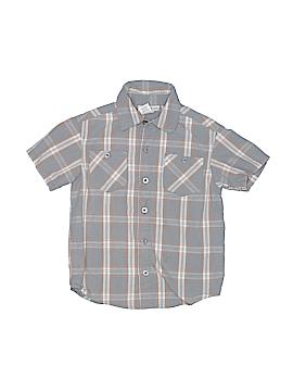 Toughskins Short Sleeve Button-Down Shirt Size 4