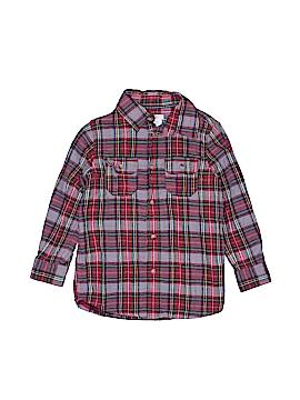 Joe Fresh Long Sleeve Button-Down Shirt Size 4 - 5