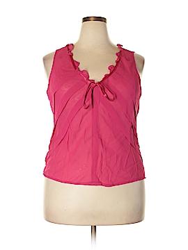 Liz Claiborne Sleeveless Blouse Size 16