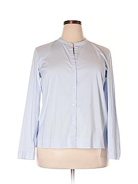 J.jill Long Sleeve Button-Down Shirt Size L