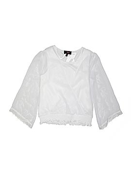 Iz Byer Long Sleeve Blouse Size 16