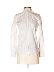 Prince & Fox Women Long Sleeve Button-Down Shirt Size XS