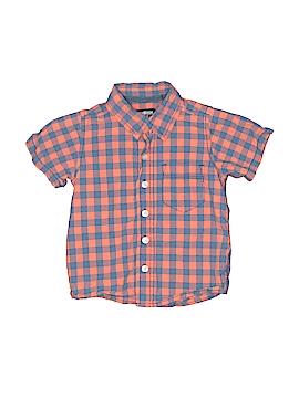 OshKosh B'gosh Short Sleeve Button-Down Shirt Size 2T