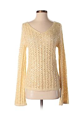 Ellen Tracy Silk Pullover Sweater Size S