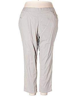 Basic Editions Khakis Size 2X (Plus)