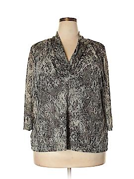 Dana Buchman 3/4 Sleeve Top Size 2X (Plus)