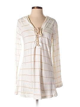 Pink Lotus Long Sleeve T-Shirt Size S