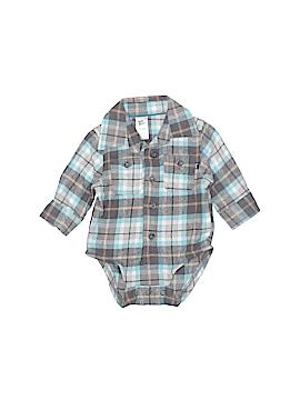 Baby B'gosh Long Sleeve Onesie Size 0-3 mo