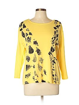 Jess & Jane 3/4 Sleeve T-Shirt Size L