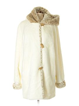 Coldwater Creek Faux Fur Jacket Size S