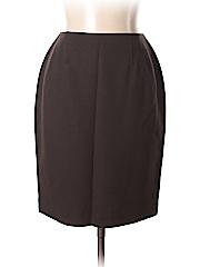 Linda Allard Ellen Tracy Women Wool Skirt Size 10 (Petite)