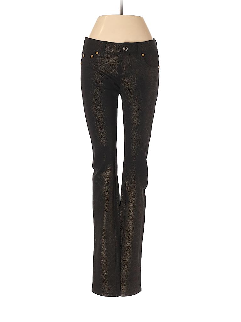 42a55cd58bd6a9 Guess Jeans Metallic Black Jeggings 26 Waist - 96% off